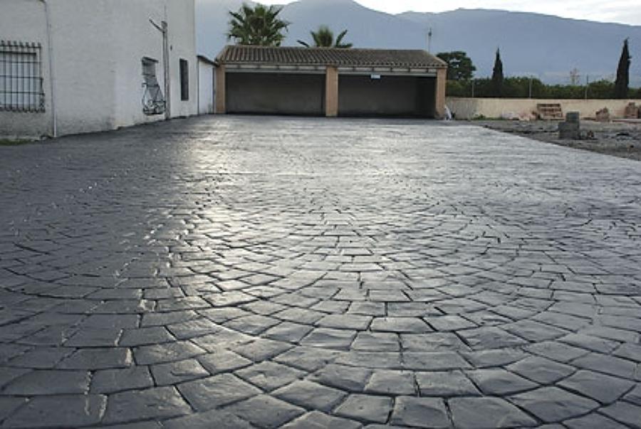 Foto hormigon impreso de pavimentos y reformas pavisoll Hormigon impreso lleida