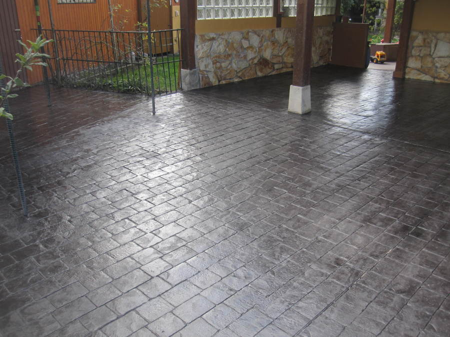 Foto hormig n impreso de pavimentos y pulidos gorbelan s for Pavimento de hormigon tarragona
