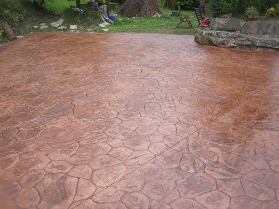 Hormigon impreso pontevedra perfect pavimento pulido en - Hormigon impreso galicia ...