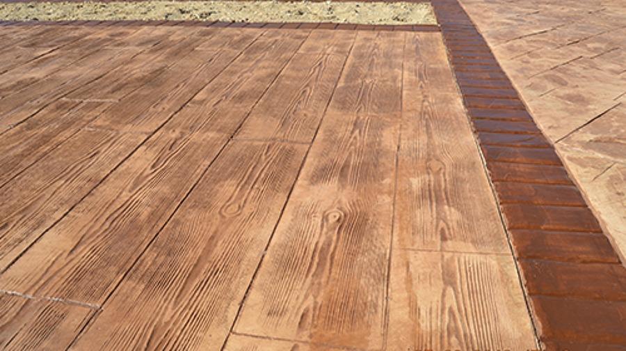 Foto hormigon impreso madera de hormigongema 606822 - Pavimento impreso precio m2 ...