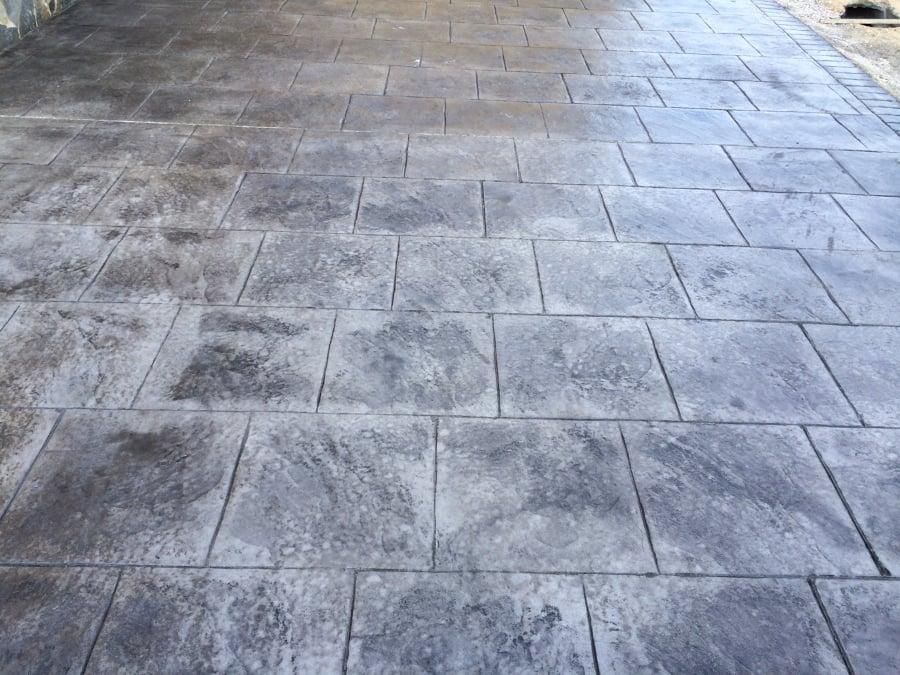 Foto hormig n impreso de pavimentos veran 653611 for Hormigon impreso ourense