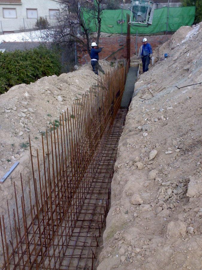 Construccion muro contencion tierras ideas construcci n for Muro de contencion precio