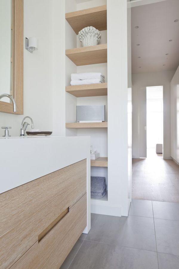 8 muebles auxiliares para el ba o diy obra ideas Muebles de lavabo de obra