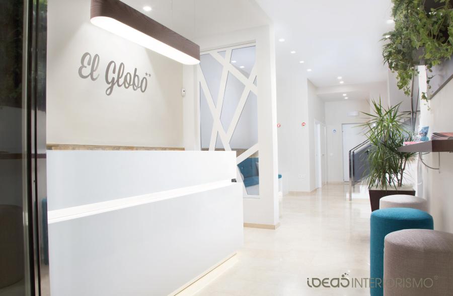"""Hotel """"El Globo"""", decoración mediteránea"""
