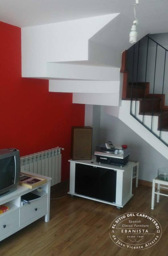 Muebles a medida ideas carpinteros - Muebles bajo escalera ...