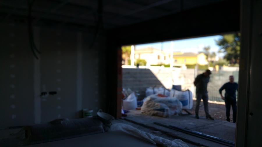 Hueco conexión interior-exterior del salón