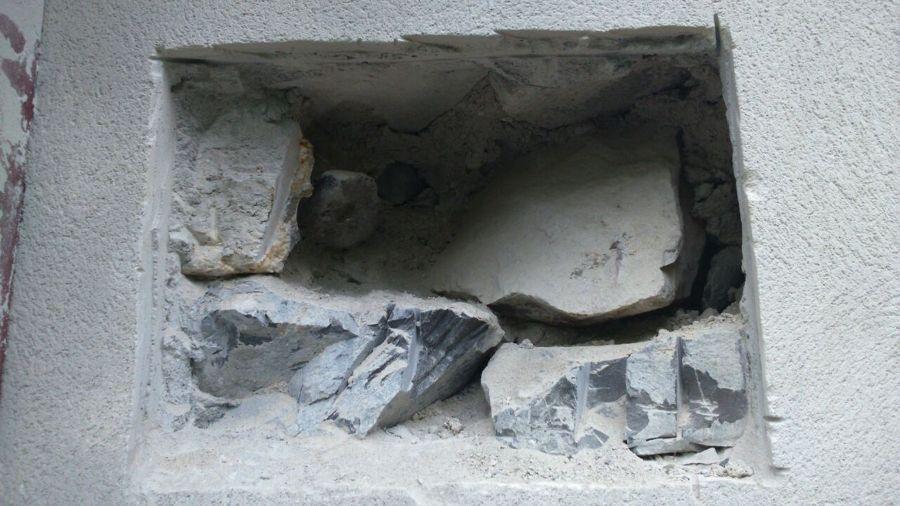 Hueco en fachada