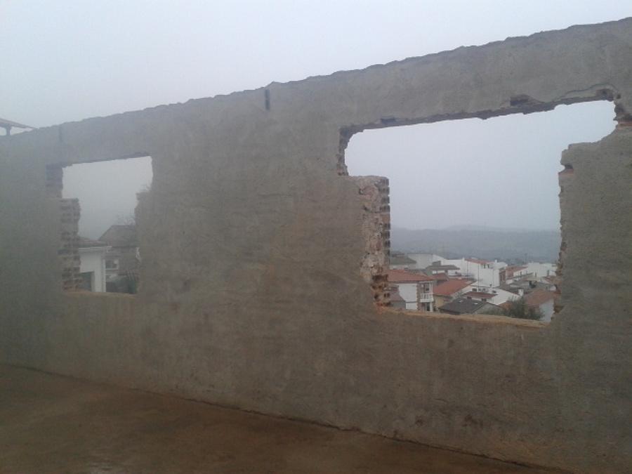 Huecos fachada pricipal