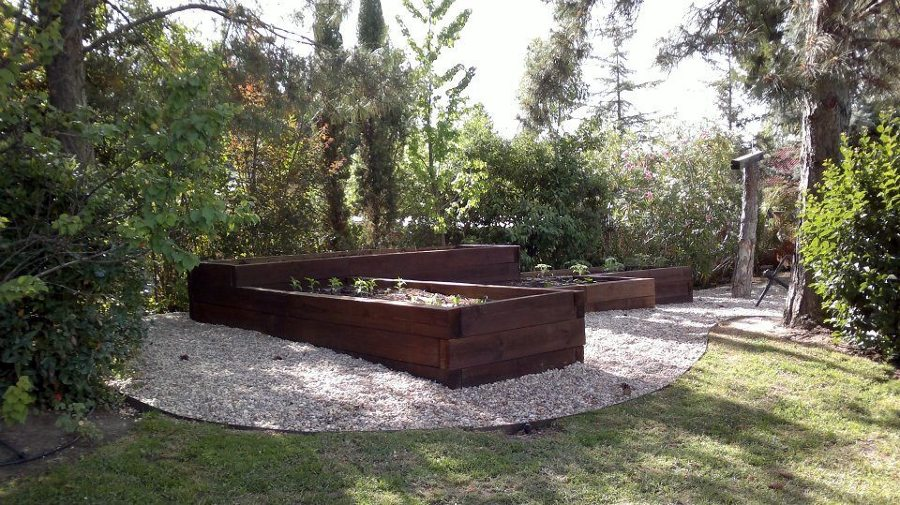 Foto huerta elevada de tujard nonline 278153 habitissimo - Diseno jardines online ...