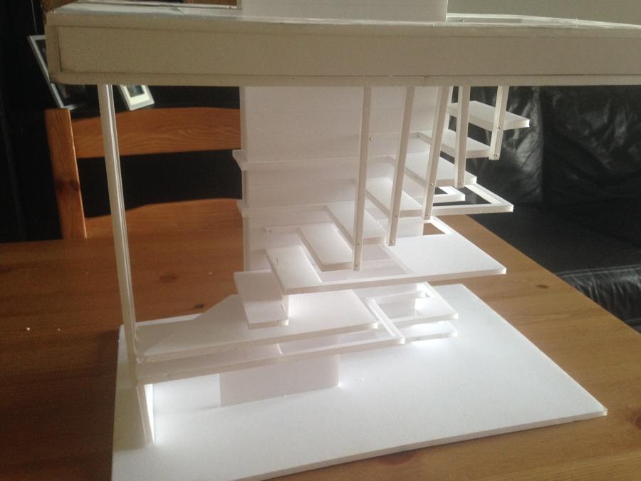 Idea de una escalera