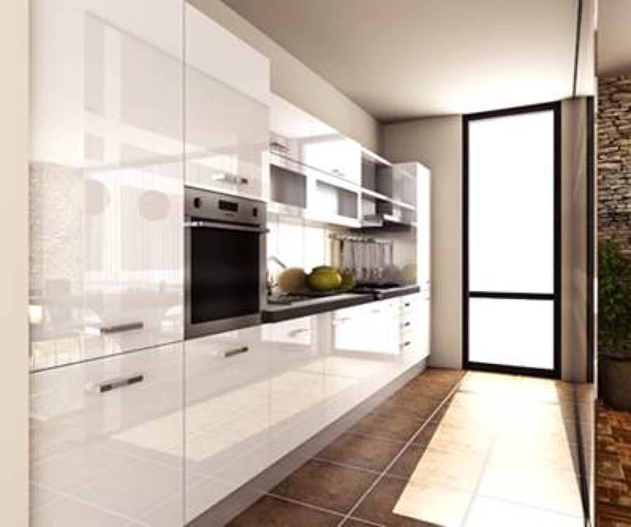 Foto idea que sirvi para amueblar la cocina actual de for Ideas muebles cocina