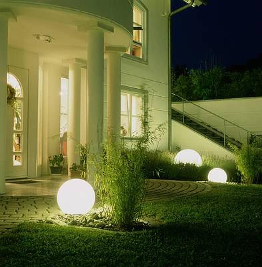 Una iluminaci n exterior segura ideas reformas viviendas for Moonlight iluminacion