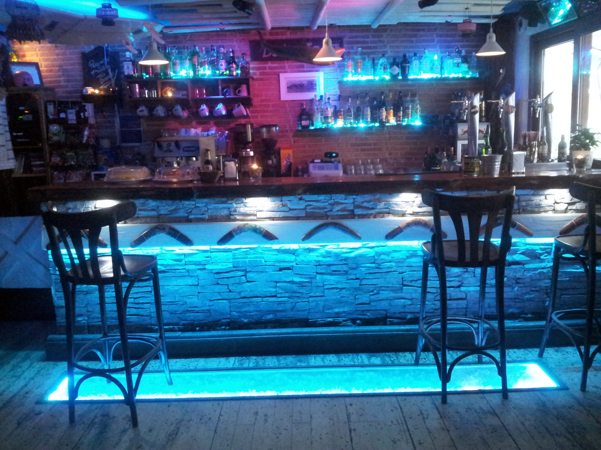 Iluminaci n bar koori ideas electricistas - Iluminacion de bares ...