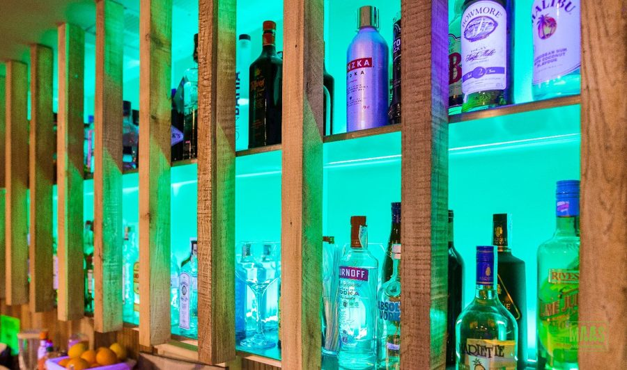 iluminacion botellero