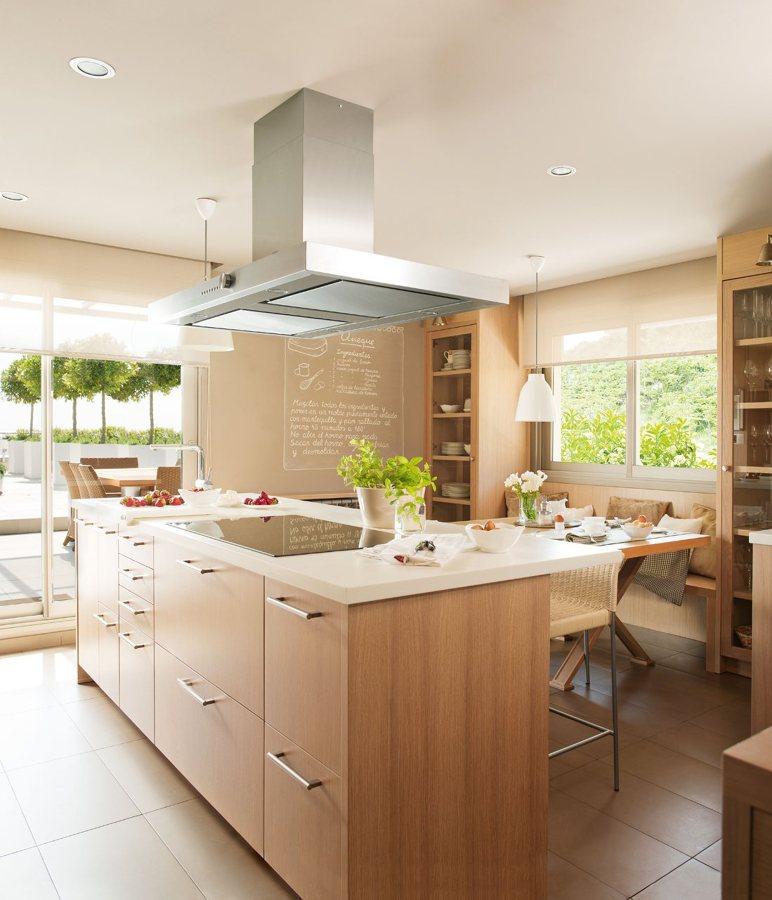Qu tipo de luz debo elegir para mi cocina ideas - Luces para cocina ...
