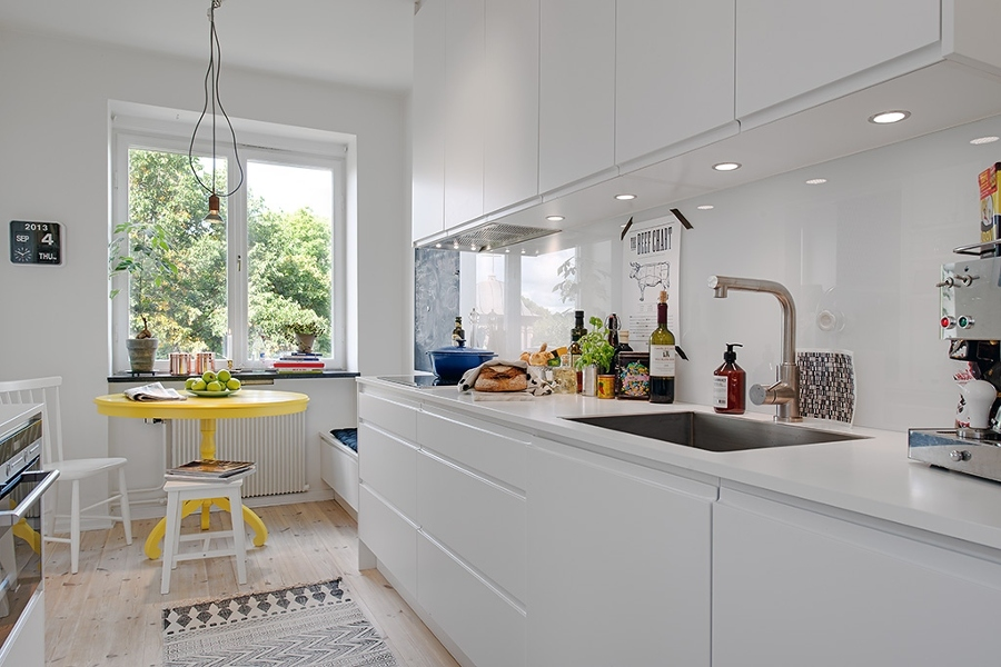 Qu tipo de luz debo elegir para mi cocina ideas - Luminarias para cocina ...
