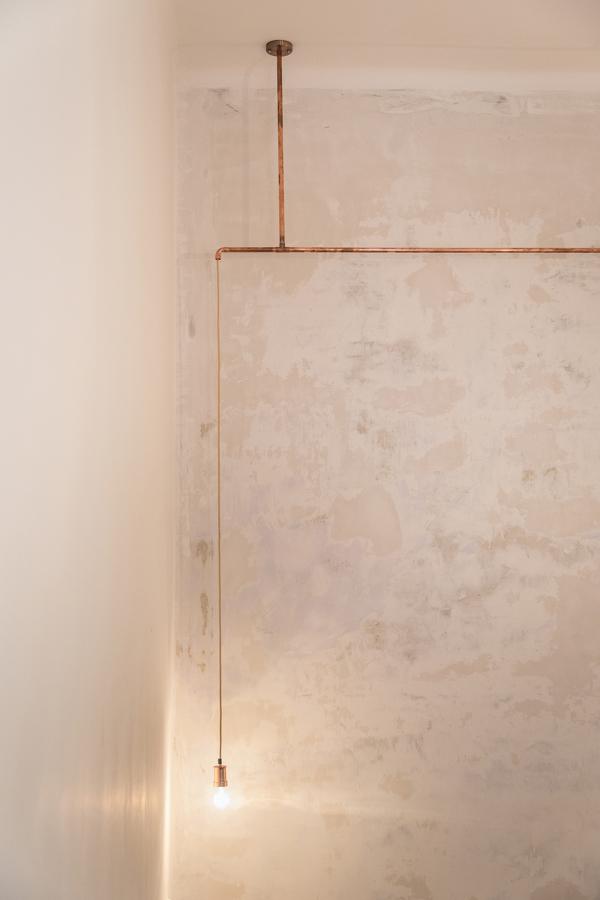 Iluminación con tubos de cobre