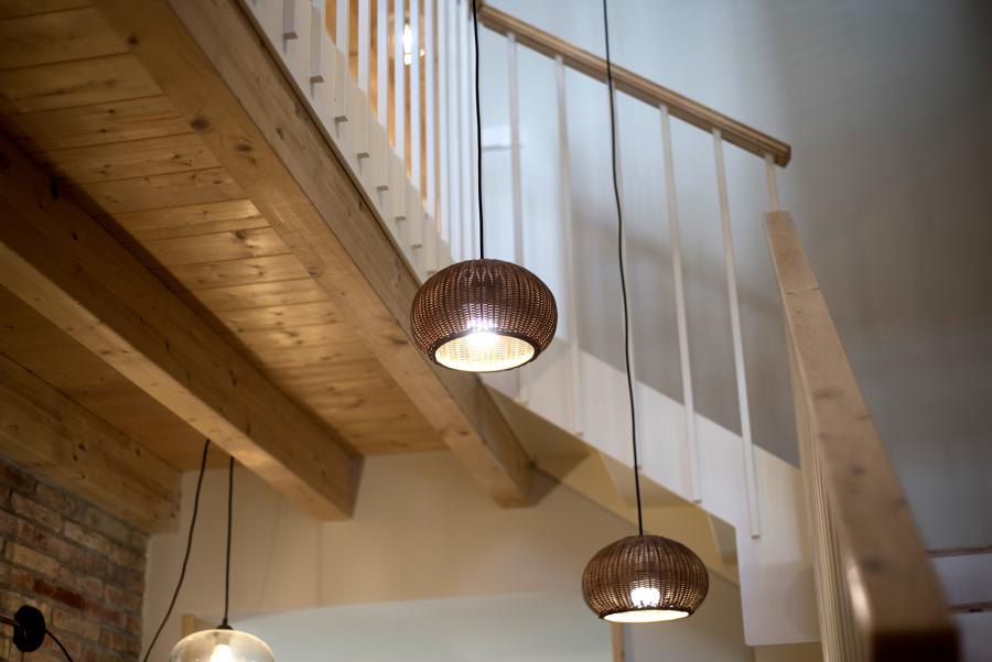 Iluminación de la escalera
