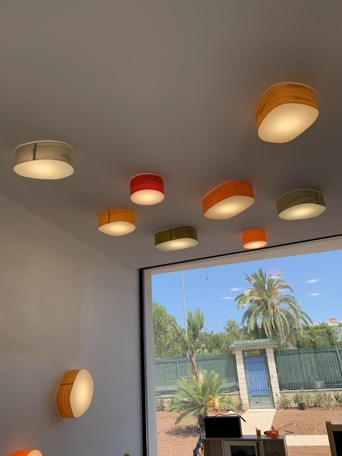 Iluminación decorativa zona juego de niños