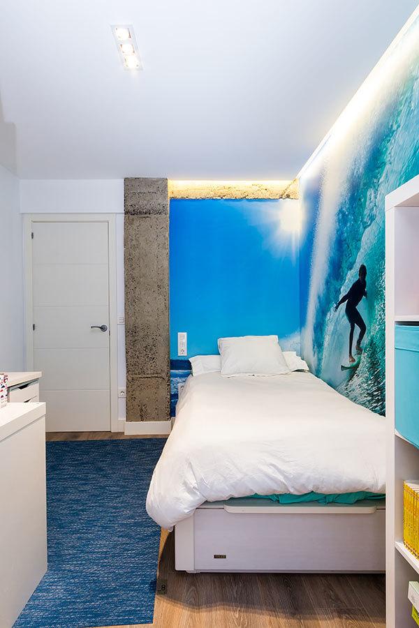 Iluminación dormitorio