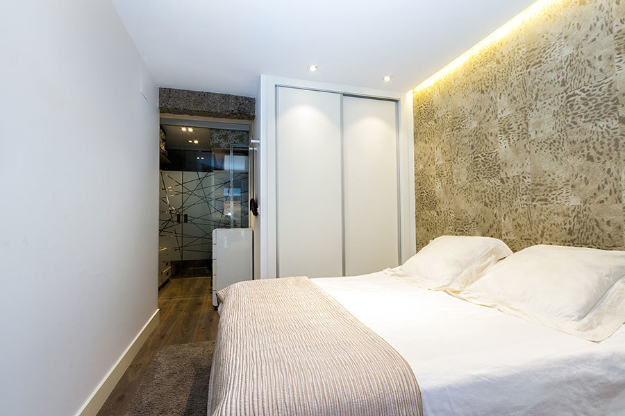 Foto iluminaci n dormitorio principal de taralux - Iluminacion dormitorio ...