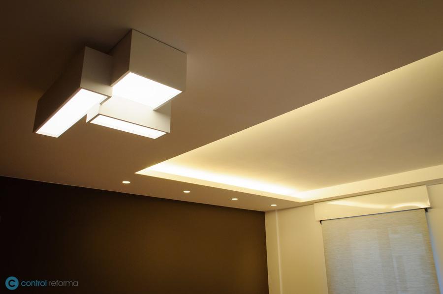 iluminación en salón