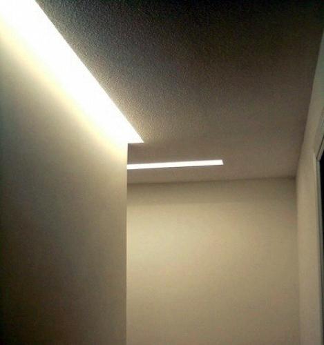 Foto iluminaci n indirecta en pasillos de arquitectura - Iluminacion indirecta led ...