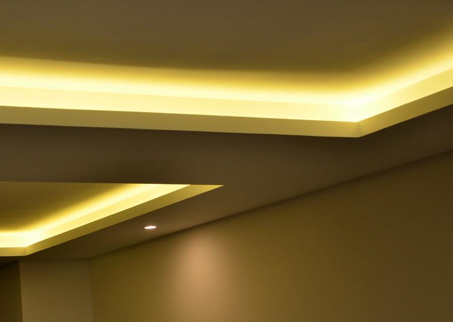 Iluminacion techo lixada luz lmpara del techo candelabro - Falso techo modular ...