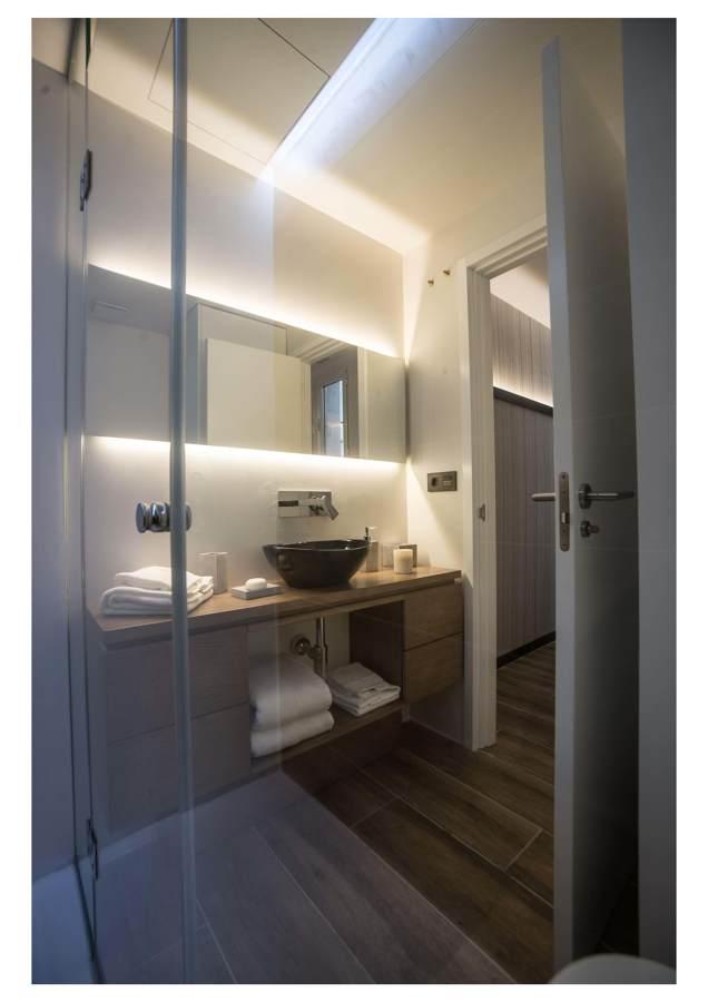 Iluminación lavabo
