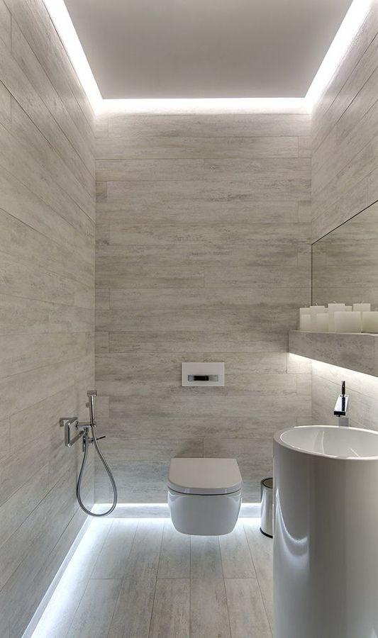 iluminación led baño