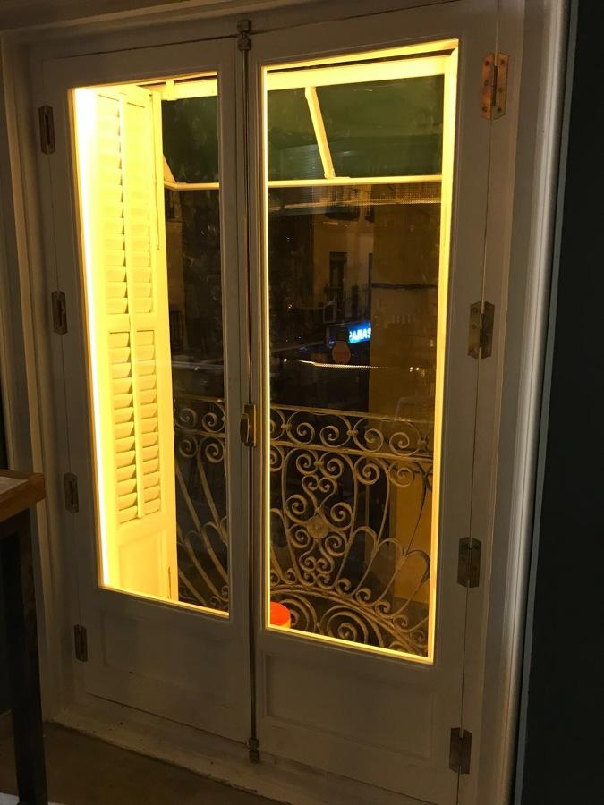 Iluminacion led en ventanas