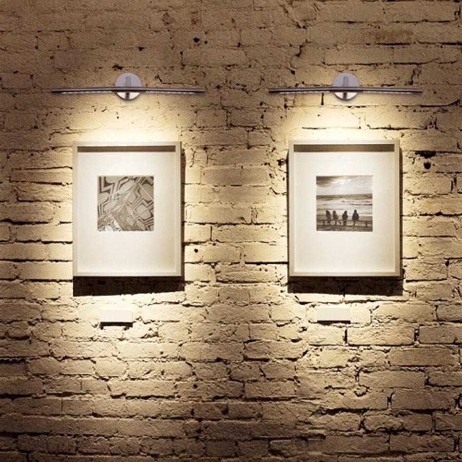 C mo exponer obras de arte en tu casa ideas decoradores - Iluminacion para cuadros ...