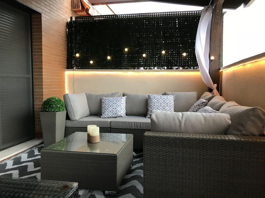 Iluminación terraza