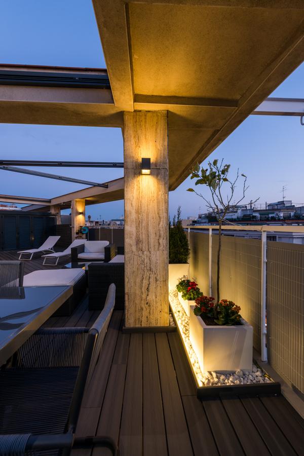 Iluminación terraza | Proyecto de reforma París