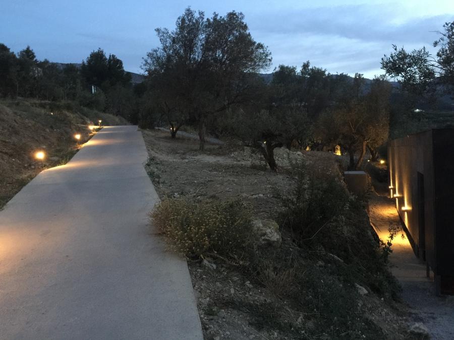 Iluminación terrazas