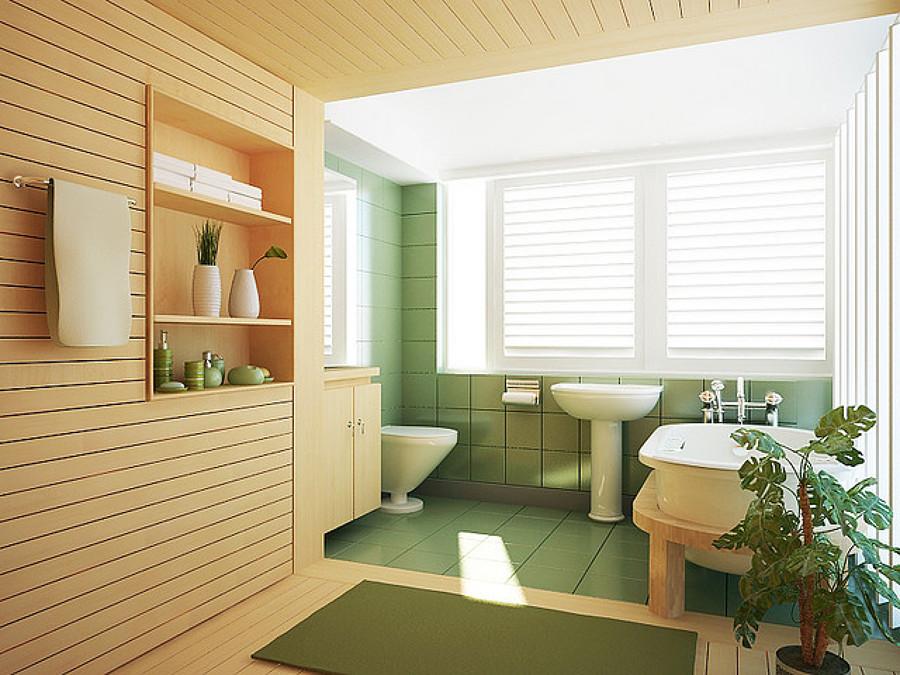 Hacer Del Baño Color Verde:Cómo Organizar un Baño Verde