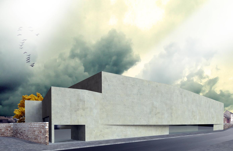 Centro c vico en cabez n de pisuerga valladolid ideas arquitectos - Arquitectos en valladolid ...