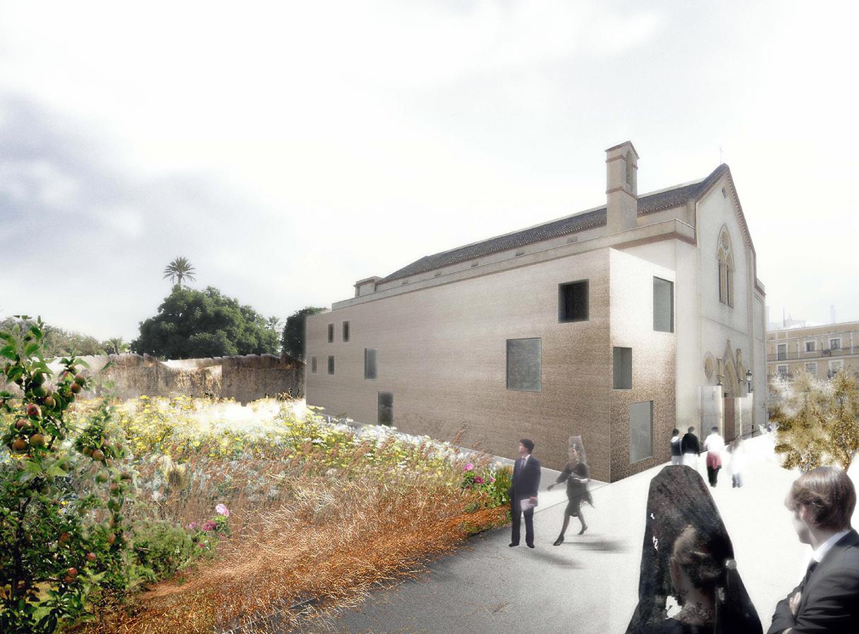 Nueva casa hermandad de los gitanos ideas arquitectos - Ideas casa nueva ...