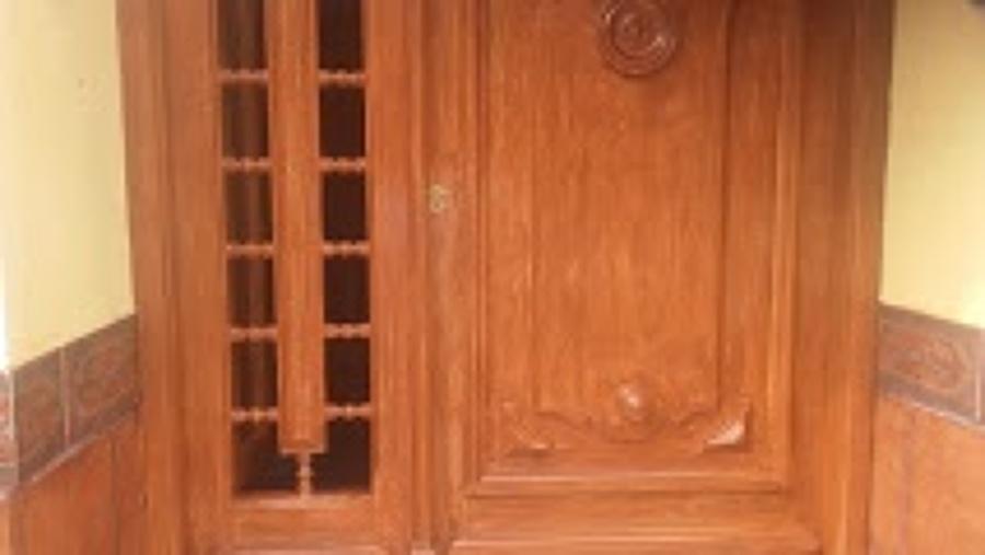 imitacion a madera en exterior