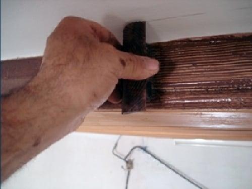 Foto imitacion madera de pintura decorativa miquel montes - Vigas de hormigon imitacion madera ...