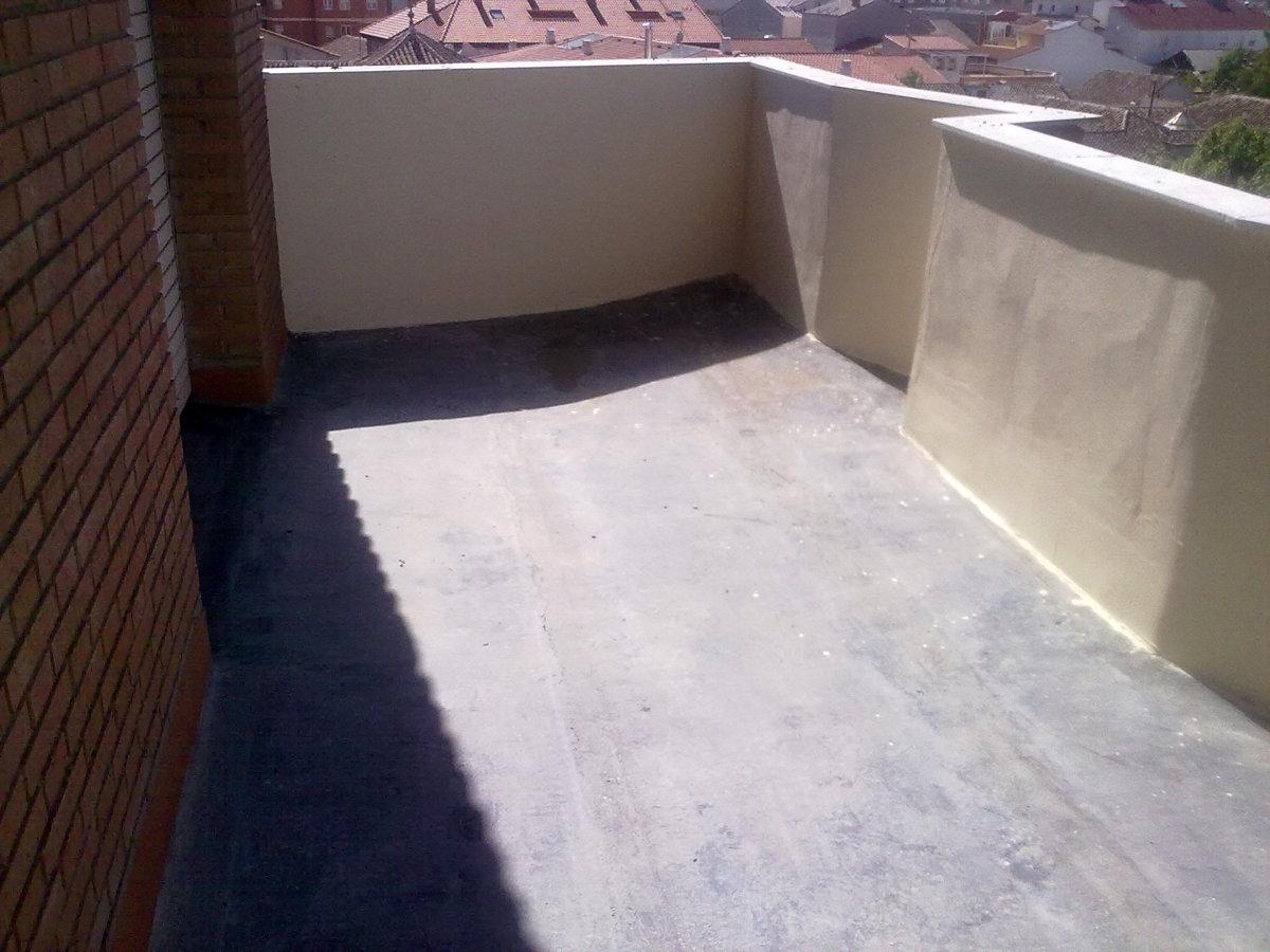 Impermeabiliación de terraza comunidad de vecinos