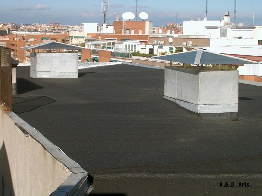 Impermeabilizacion autoprotegida para intemperie ideas for Cubierta piscina transitable