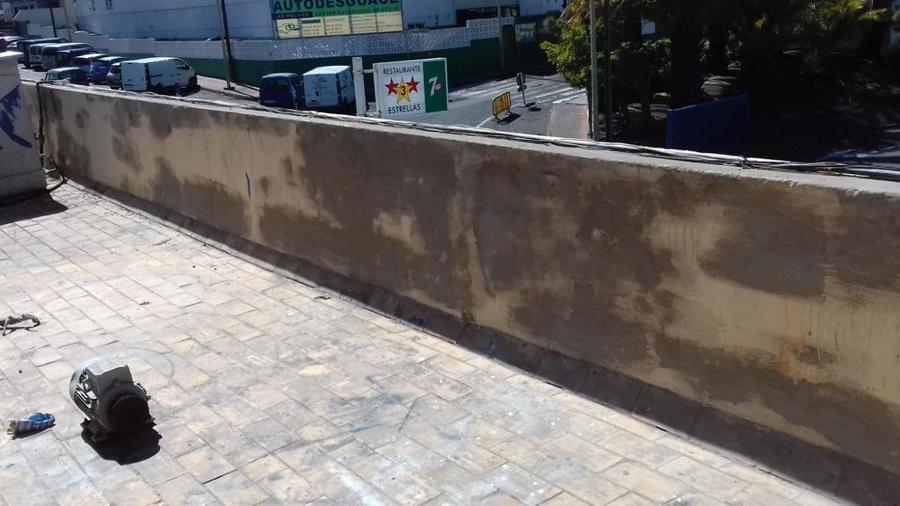 Impermeabilización de azotea, piso y paredes