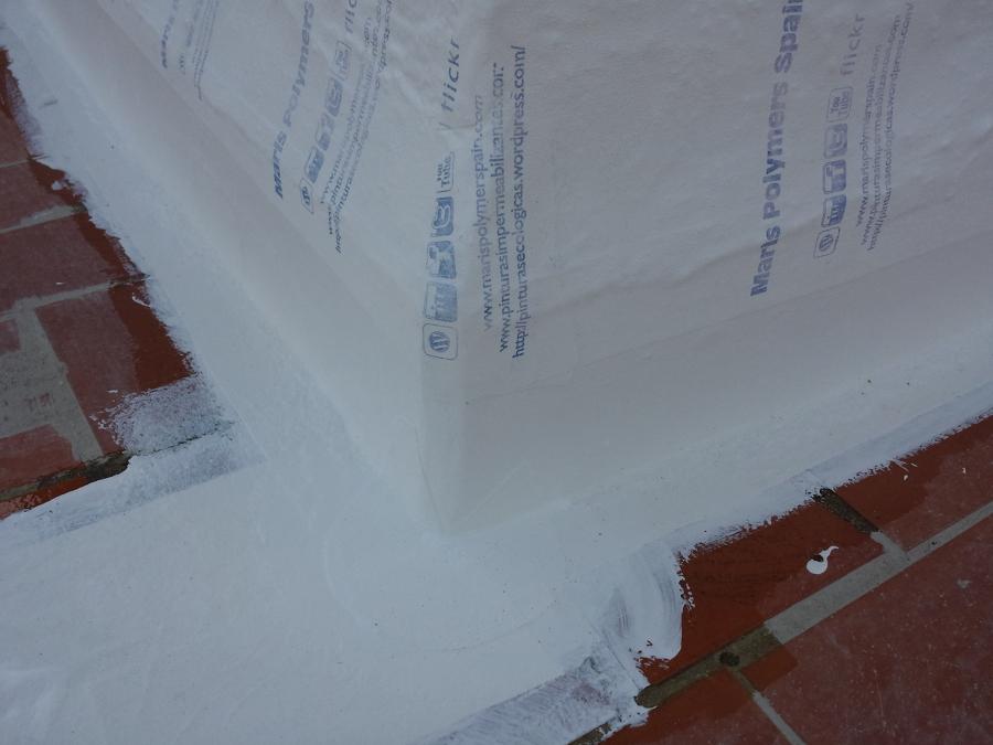 Impermeabilización de cubierta transitable