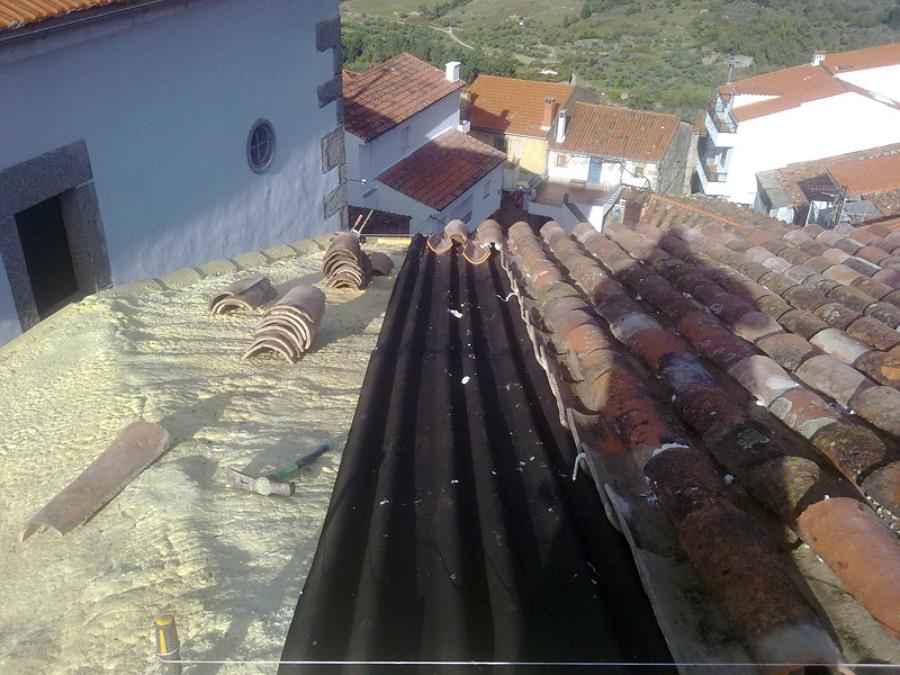 Foto impermeabilizaci n de tejado de construcciones - Impermeabilizacion de tejados ...