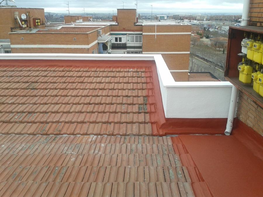 Rehabilitaci n exterior de edificios ideas - Impermeabilizacion de tejados ...