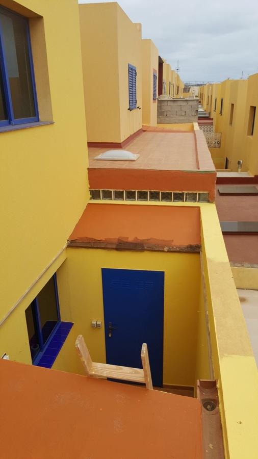 Impermeabilización techo terraza dúplex