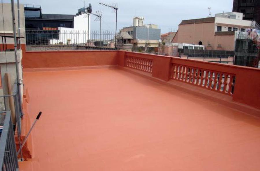 Impermeabilizacion terraza proyectos impermeabilizaciones for Impermeabilizar terraza transitable