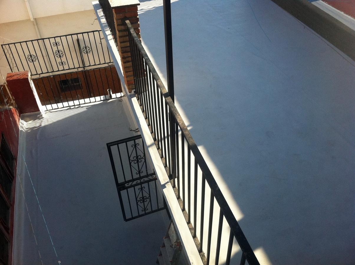 Impermeabilizacion y aislamiento termico terrazas