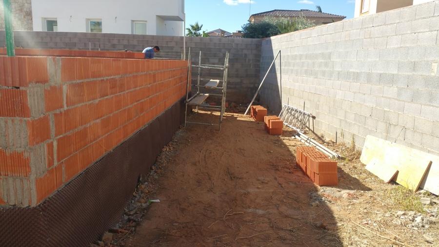Impermeablilización de muros